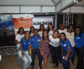 Conselho Tutelar realiza trabalho de conscientização na Festa de São Francisco de Assis.