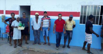 Secretário de Administração de Chorrochó visita a comunidade de Jatubarana