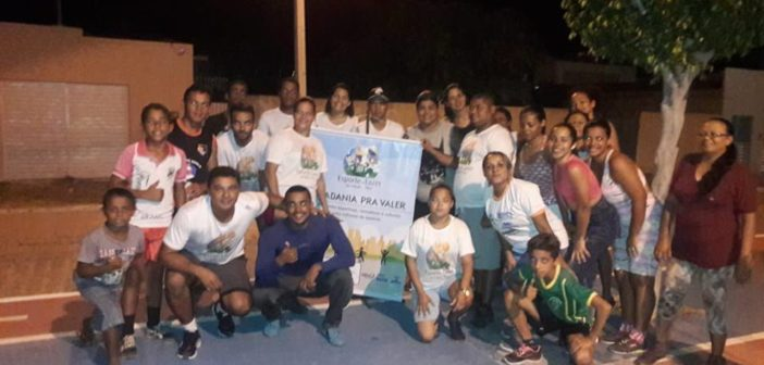 Projeto PELC aula de ginástica movimenta a População na cidade de Chorrochó.