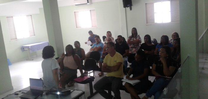 Secretaria de Educação recebe a visita da Coordenadora do PNAIC, Ana Rita Tabosa.