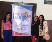 Coordenadora e Técnicas do CREAS de Chorrochó estão participando do evento da SJDHDS, PROTEJA Bahia.