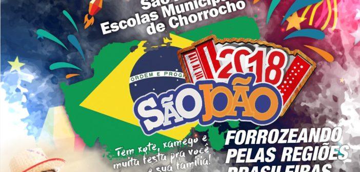 Secretaria de Educação divulga agenda de festas juninas das Escolas Municipais.