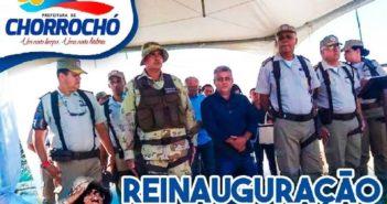 Cipe-Caatinga reinaugura base operacional em Barra do Tarrachil com a presença do prefeito Humberto Gomes Ramos.