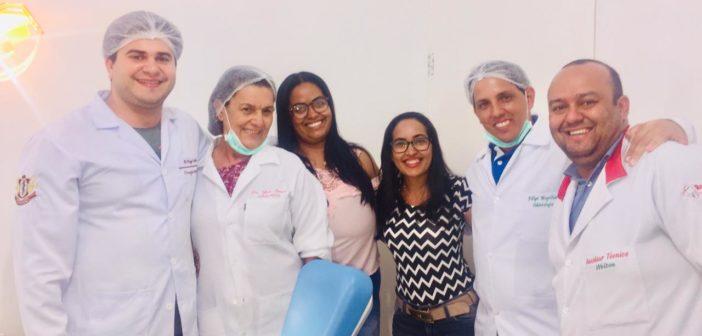 Prefeitura de Chorrochó entrega mais uma etapa de próteses dentárias à população