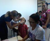 Secretaria de Saúde realizou a semana de vacinação em crianças e adolescentes.
