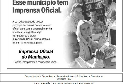 Prefeitura decreta feriado municipal segunda-feira (24),em alusão ao dia de São João