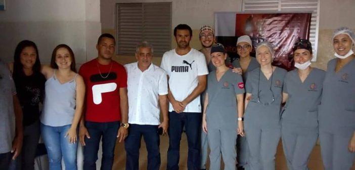 PREFEITURA DE CHORROCHÓ ARTICULA PARCERIA COM ONG's E LEVA MUTIRÃO DE SAÚDE AO POVOADO DO SÃO JOSÉ